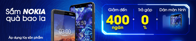 Sắm Nokia Quà bao la