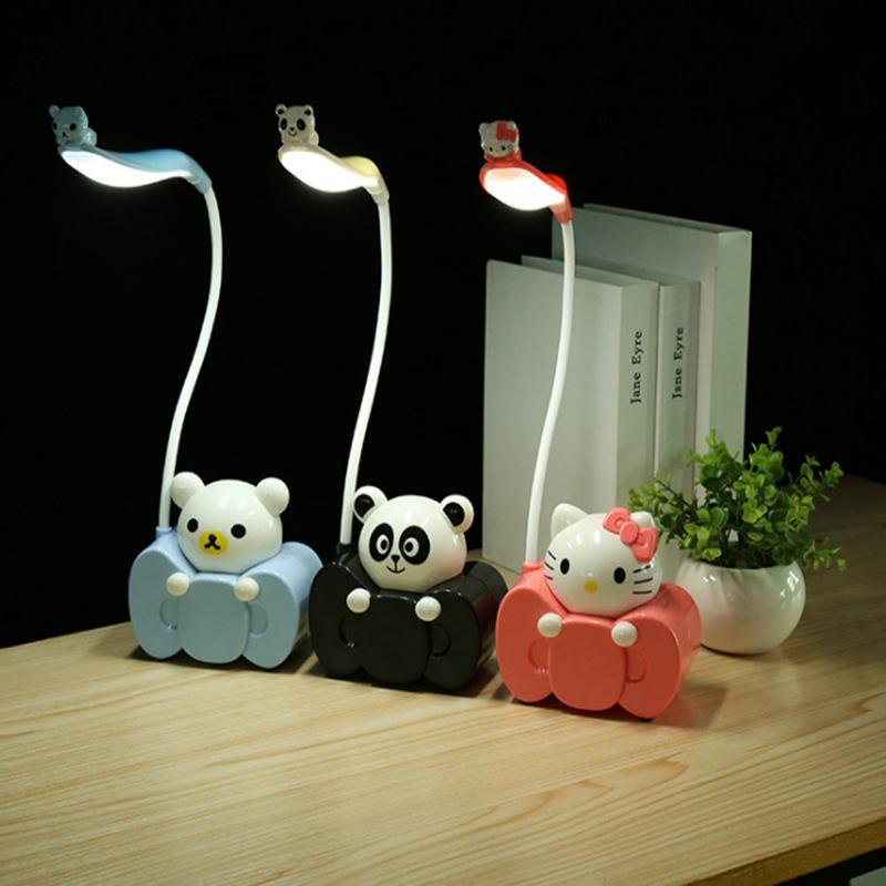Đèn bàn học sinh bảo vệ mắt sạc USB
