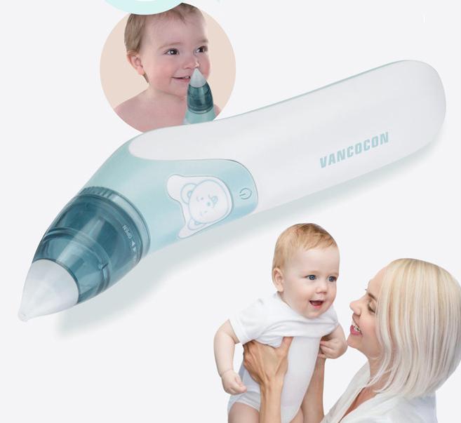 Dụng cụ vệ sinh mũi, tai cho bé Vancocon