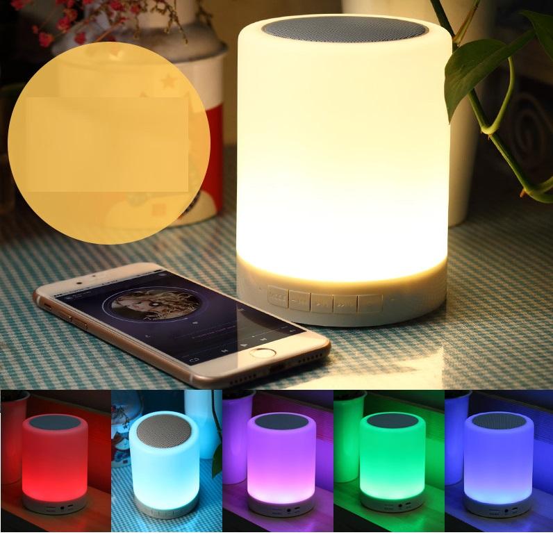 Loa bluetooth có đèn