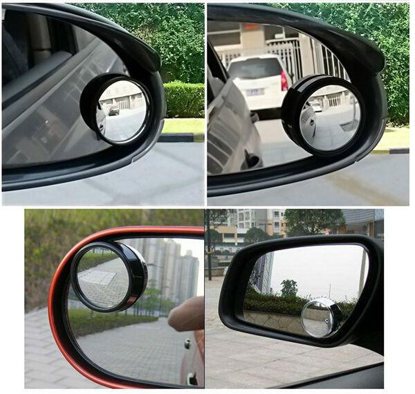 combo 2 Chiếu hậu gương nhỏ tròn spot mirror