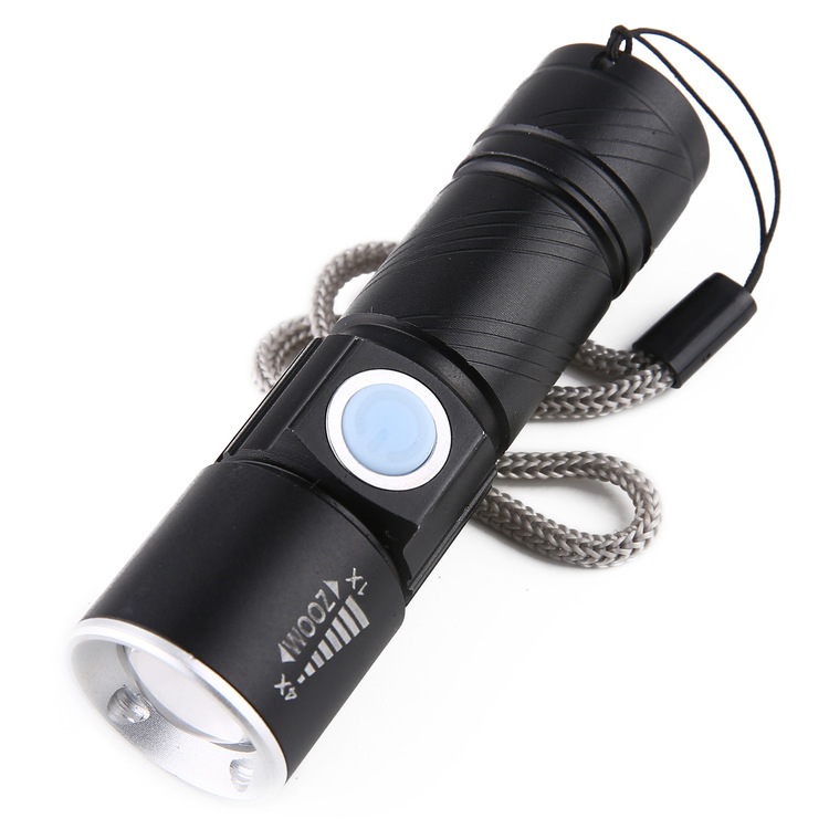Đèn pin mini zoom siêu sáng CREE