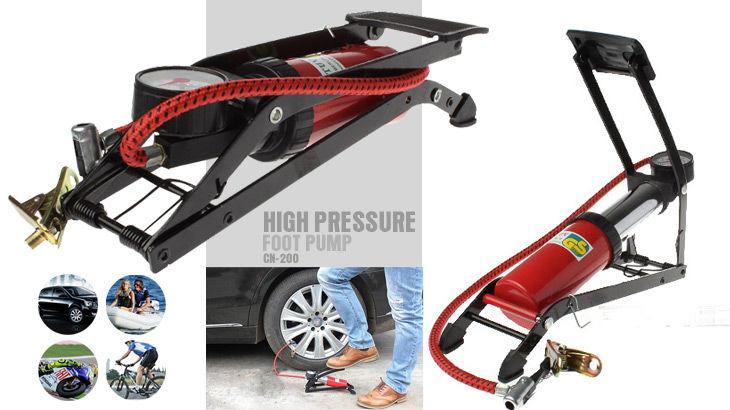 Bơm hơi dùng chân High Pressure Foot Pump