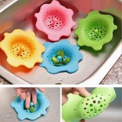 Lọc sàn bồn rửa chén hình hoa