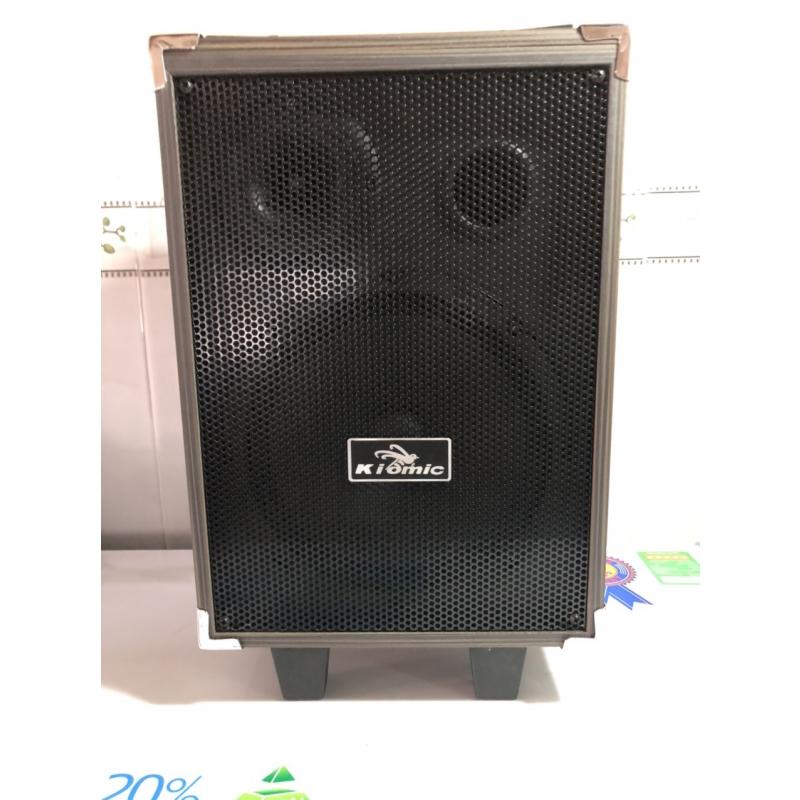 Loa kéo karaoke Kiomic Q8 tặng 1 mic hát karaoke