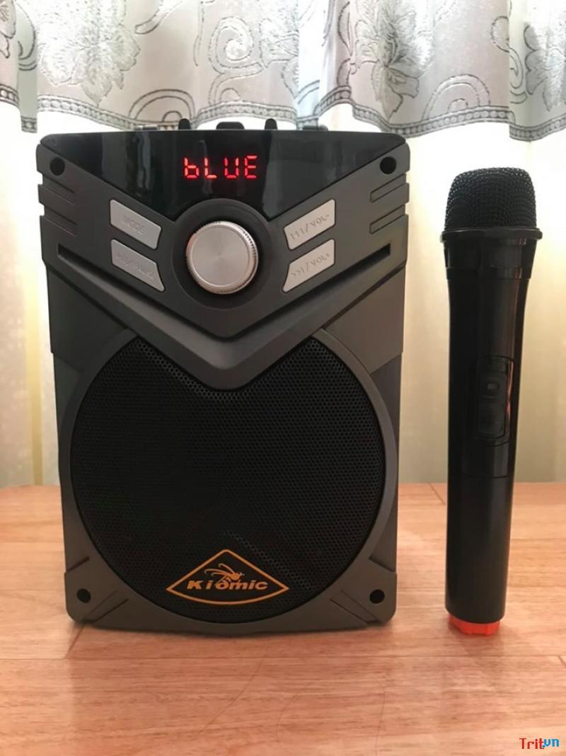 Loa bluetooth karaoke Kiomic K56