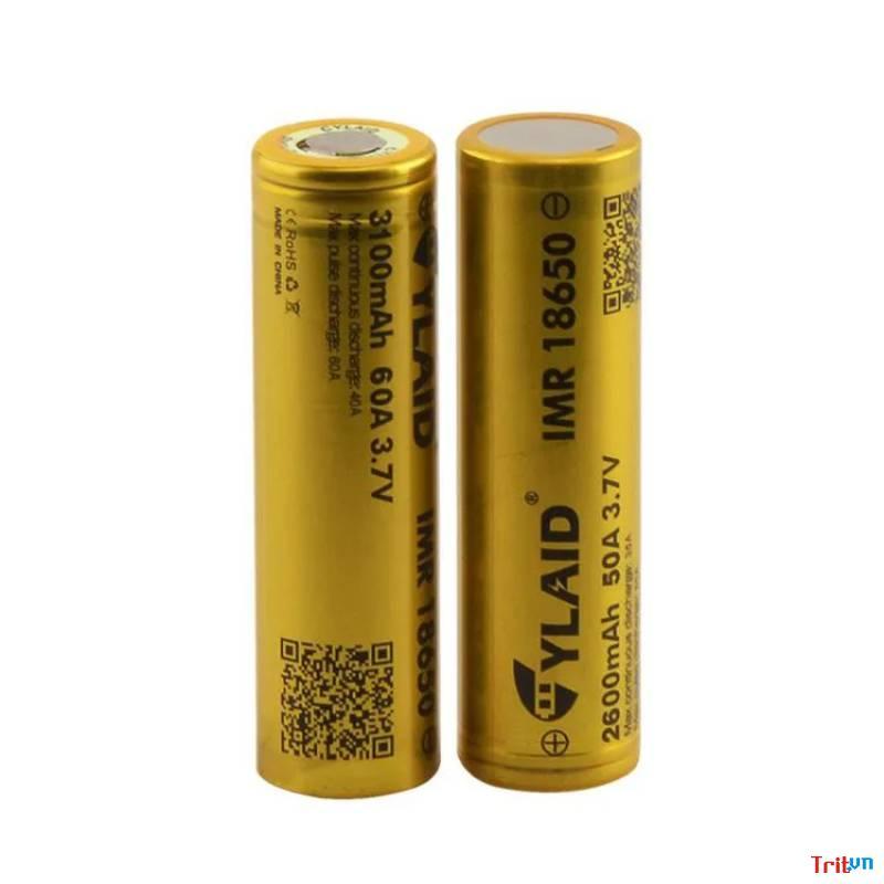 Pin 18650 CYLAID 3100mAh – 60A(1 viên)