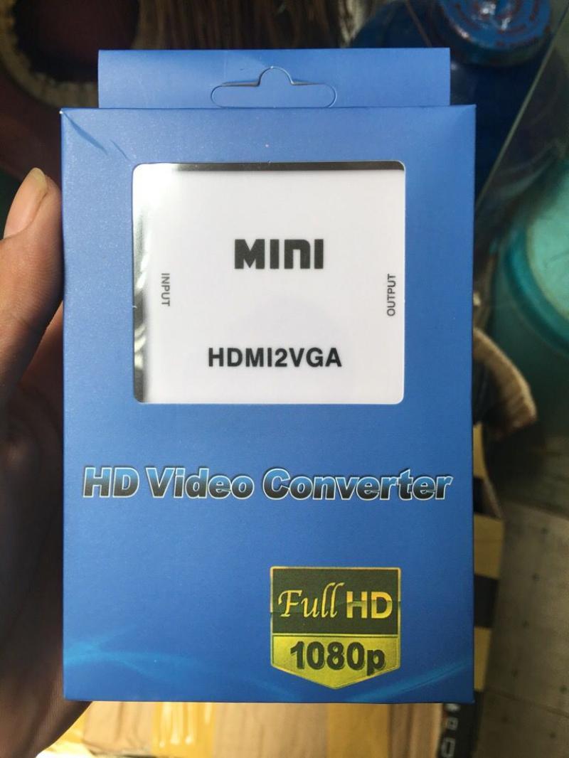 Bộ chuyển đổi HDMI ra VGA Full HD 1080P (HDMI2VGA)