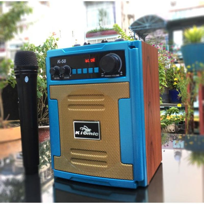 Loa karaoke Kiomic K58 kèm 1 micro không dây