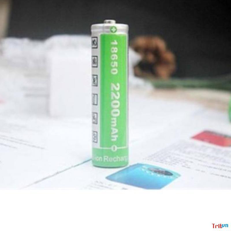 Pin sạc 4v2 - 2.200mAh cho loa pháp (pin xanh lá tròn xịn)