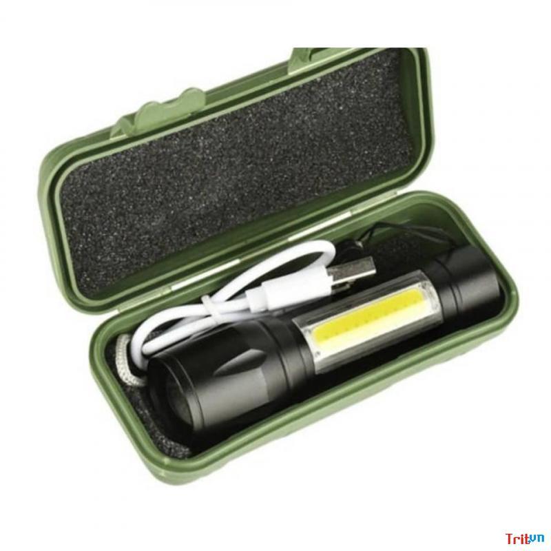 Đèn pin mini siêu sáng gọn nhẹ