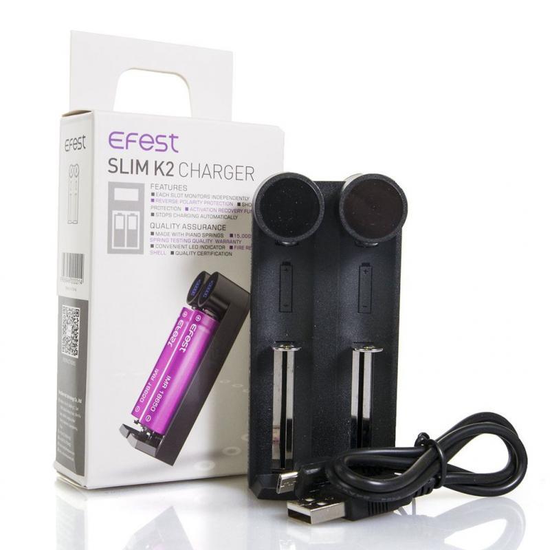 Sạc pin vape EFEST Slim K2 chính hãng