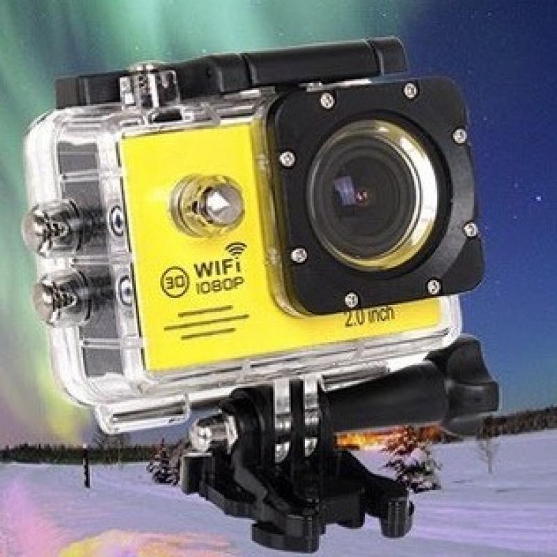 Camera hành trình xe máy A19 Wifi - có remote