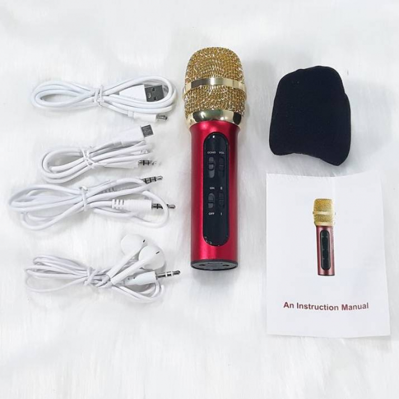 Bộ micro livestream C11 + karaoke trên điện thoại đa năng